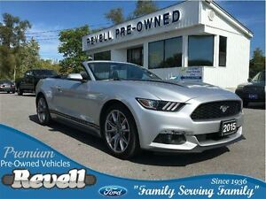 2015 Ford Mustang EcoBoost Premium...Heated/cooled leather bkts,