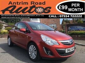 2013 VAUXHALL CORSA 1.2 ENERGY ** 66,000 MILES ** FINANCE AVAILABLE WITH NO DEPOSIT **