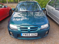 (55) PLATE MG ZR **1.4 105 ENGINE** MOT NOVEMBER 2018**, DELIVERY OPTION AVAILABLE