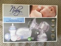 Nuby Natural Touch Rhythm electric breast pump set
