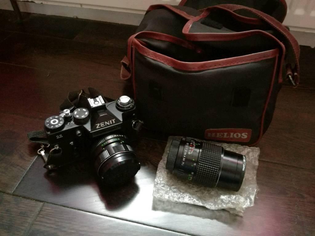 Zenit 11 SLR camera with 2 x Helios lens | in Kings Lynn, Norfolk | Gumtree