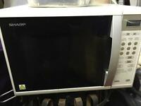 Sharp 800w grill microwave