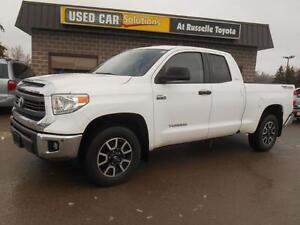 2014 Toyota Tundra SR5 5.7L V8 Double Cab 4WD Peterborough Peterborough Area image 1