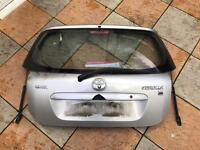 Toyota Corolla Colour Collection Back Boot Lid
