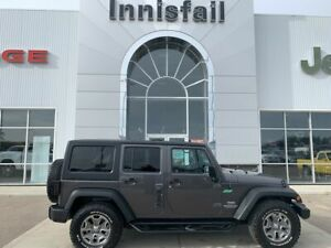 2016 Jeep Wrangler Unlimited Rubicon Leather Heated Seats, Max T