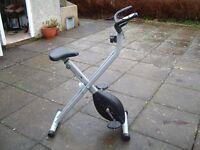V-fit Folding Exercise Bike