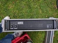 Kam kxr300 power amplifier 300w 2u flightcase dj amp disco