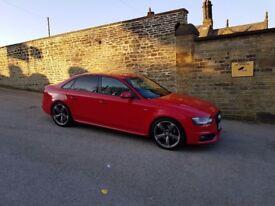 Audi a4 black edition s line