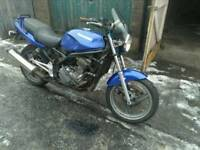 Kawasaki ER500cc project