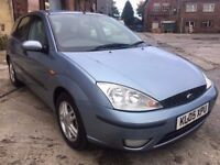 2005 FORD FOCUS 1.6 ZETEC, PETROL, MANUAL, 5 DOORS HATCHBACK, LONG MOT, 1 OWNER, DRIVES WELL !!