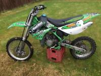 Kx 85 small wheel Spares or repairs