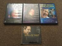 Nusrat Fateh Ali Khan Concert DVDs Collection