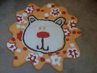 Children's Lion Rug