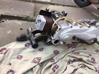 Piaggio zip 70 polini engine
