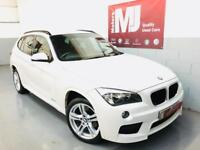 2013 BMW X1 18d M SPORT ** RED LEATHER ** FSH