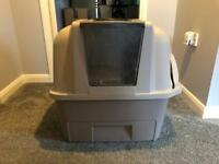 Large cat litter tray