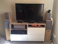 Eltax Surround Sound Speakers and Sony Amp