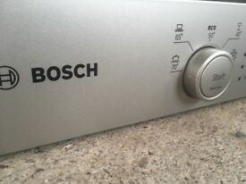Bosch series 2 silence plus table top dishwasher silver light use table