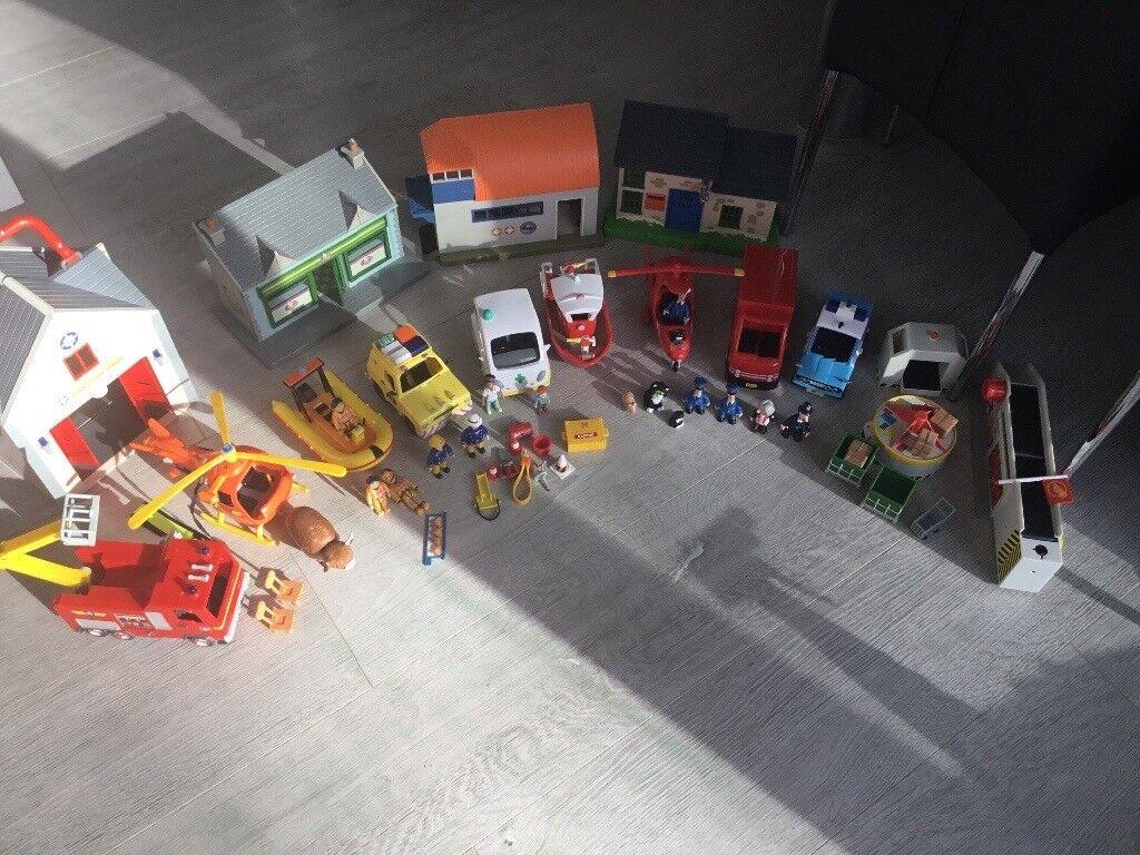Fireman Sam & postman pat bundle