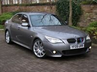 FINANCE AVAILABLE!! 2009 BMW 5 SERIES 3.0 530d M SPORT BUSINESS EDITION 4dr AUTO, FBSH, AA WARRANTY
