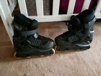 Boys Roller blades size expandable UK 2-5