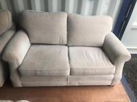 2 x 2 seater sofas and arm chair** free delivery**