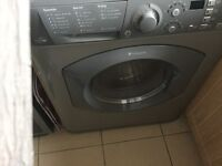 HOTPOINT WASHER DRYER GRAPHITE