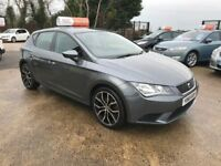 Late 2013 Seat Leon 1.6 TDI S **FINANCE AND WARRANTY** (golf,astra,megane)