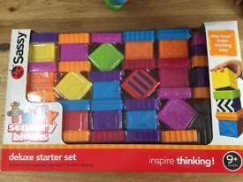Sassy sensory blocks