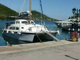 GREEK ISLAND CATAMARAN