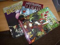 Walking Dead vols 1 and 7 plus Suicide Squad vol 1
