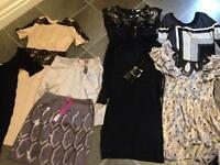 Mostly New with Tags Size 8 dress bundle 14+ items £35