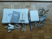 Nintendo Wii bundle inc operations manuals - mint condition