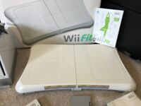 Nintendo Wii Fit Board with rechargeable batteries