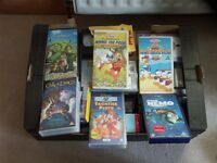 HUGH COLLECTION OF CHILDREN VHS TAPES FREE