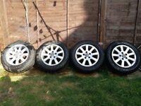 Genuine VW Golf MK5 alloy wheels 15 inch, 5x112 holes