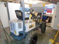 LIFTON 750KG HI TIP SKIP LOADER DUMPER TRUCK, SERVICED, LOW HRS, NO VAT