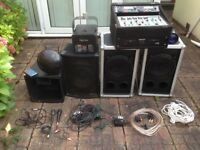 DJ equiptment job lot