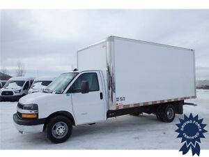 2016 Chevrolet Express 4500 16 ft Cube Van