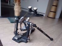 Double bass drum pedal: Sonor DP472R