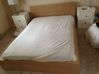 Ikea Malm Double Bed