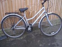 ladies Townsend Trekking Toulouse Bicycle.
