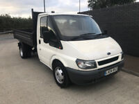 Ford Transit 350 Lwb Tripper truck 2.4 diesel - LONG MOT - Great driver