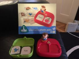 ELC Electronic Phonic Pairs Game 4-8Yrs Excellent Condition Hardly Used