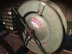 Strapping trolley, reel of strapping ,strapping ratchet,all in good working condition.