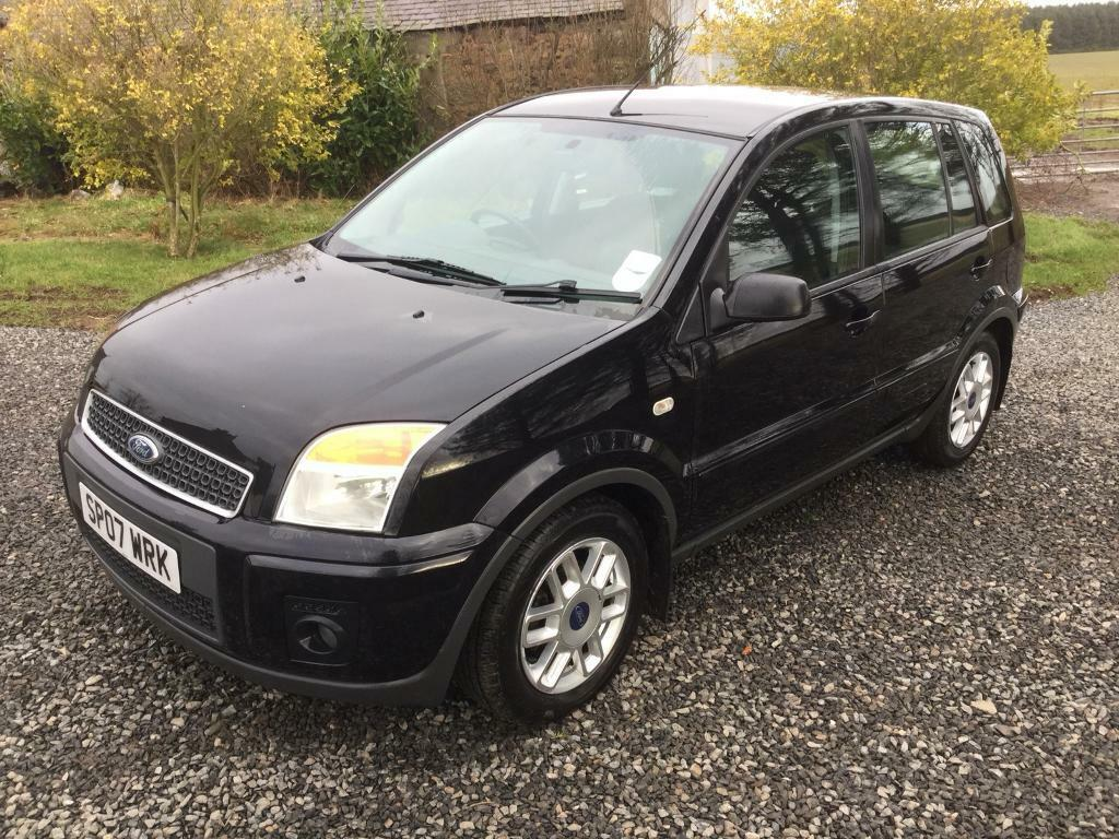 2007 ford fusion 1 6tdci zetec 63k £30 road tax