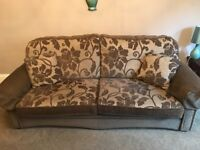3 and 2 seater sofas and chair