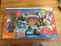 Wii SKYLANDERS - AS NEW - STILL BOXED - TRAP TEAM AND GIANTS