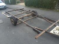 Make your own trailer (much cheaper than buying one)