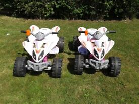 Childs Ride ON Quad, complete with battery charger.